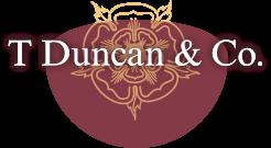 T Duncan logo